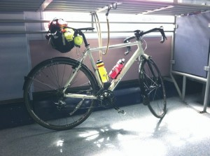 Bike loaded up for a 400km audax