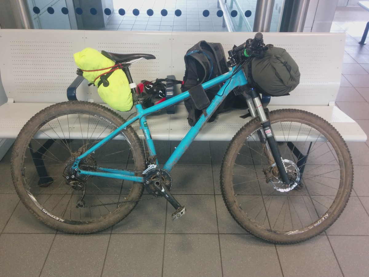 Bikepacking setup March 2016